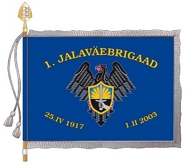 1. jalaväebrigaadi lipp