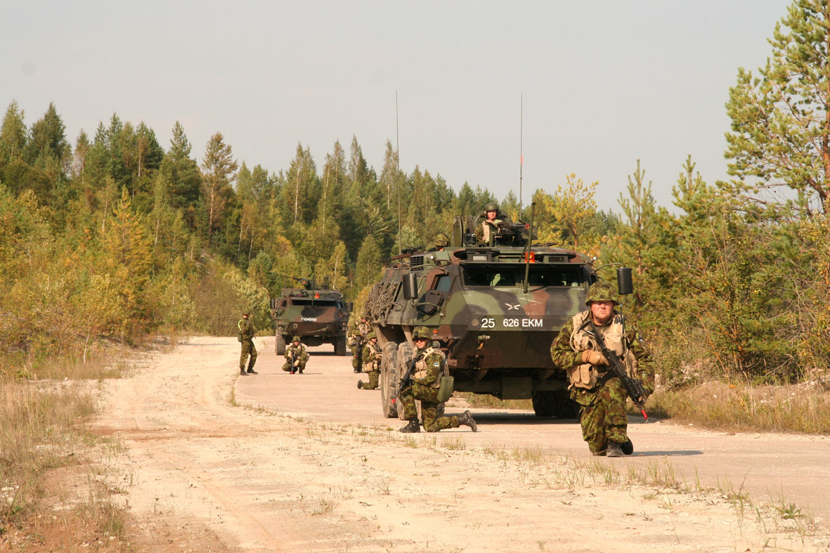 Kalevi jalaväepataljon, BAM