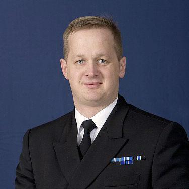 Mereväe ülem kommodoor Jüri Saska