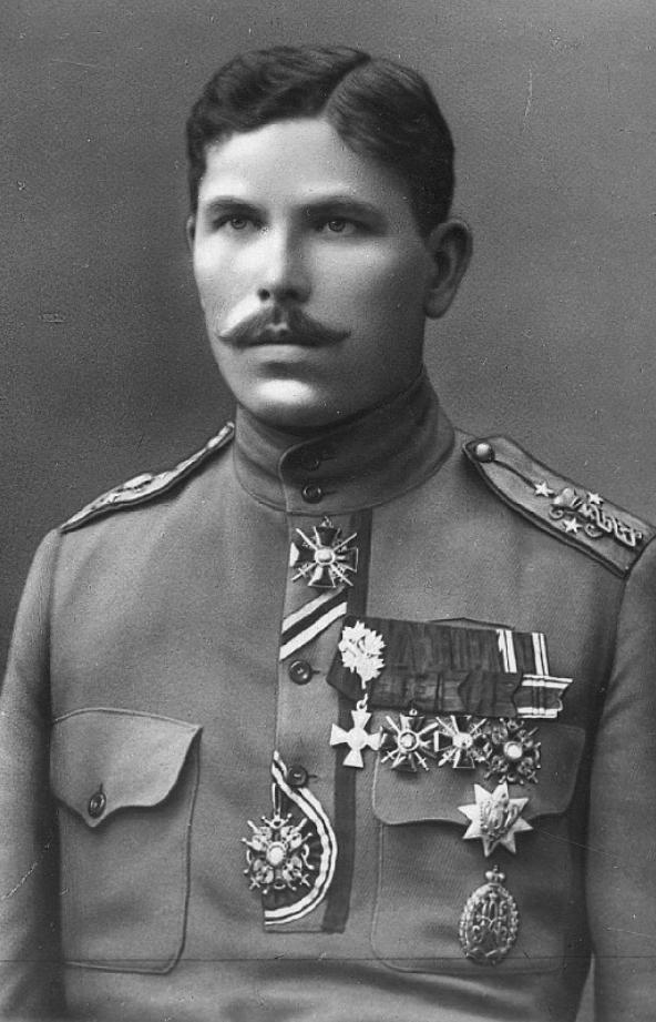 Julius Kuperjanov, 1917. Foto: Vikipeedia
