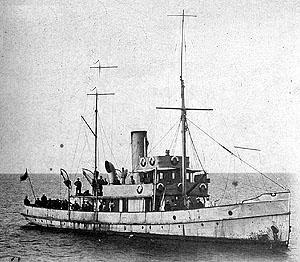 Laine – mereväe esimene relvastatud vahilaev