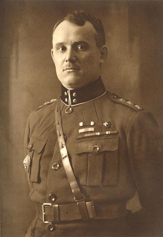 Johan Laidoner kindralleitnandina