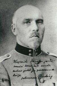 Polkovnik Siegfried Pinding 1922. aastal. Foto: Vikipeedia