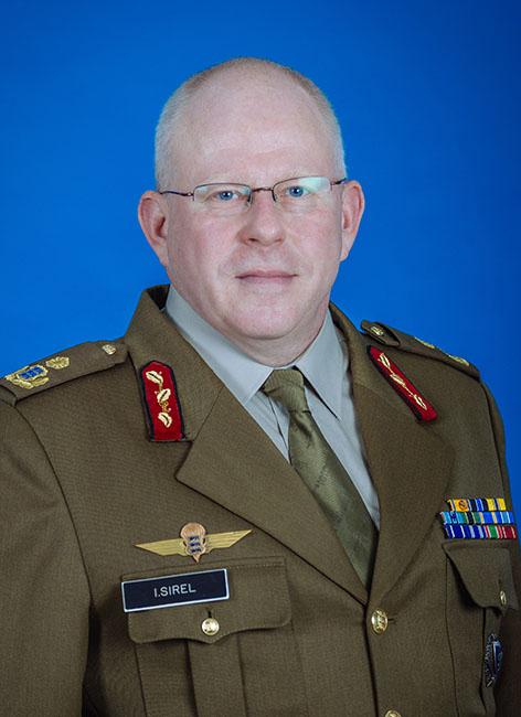 Kindralmajor Indrek Sirel