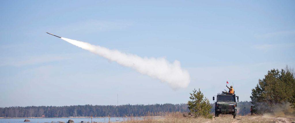 Õhutõrjepataljon harjutas Rutjal laskmist õhutõrjeraketisüsteemist Mistral, 08.05.2013
