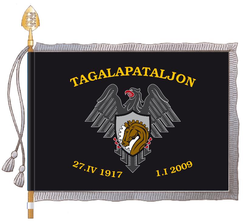 1. Jvb tagalapataljoni lipp