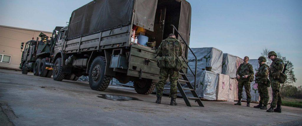 Kevadtorm 2016, Logistikapataljon rajas Kambjasse jaotuspunkti, 04.05.2016