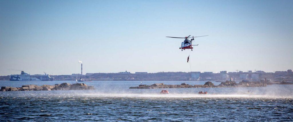 Mereväelase baaskursuse lõpuharjutus, 10-11.04.2018