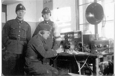 Raadioside algusaeg sidepataljonis