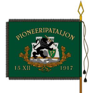 Pioneeripataljoni lipp