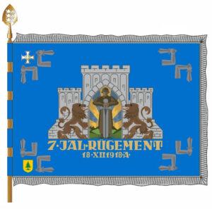 22. jalaväepataljoni lipu väeosakülg